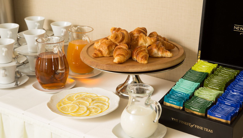 Business breakfast at Garden Ring Hotel Moscow